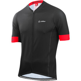 Löffler hotBOND RF Full-zip cykeltrøje Herrer, black/red